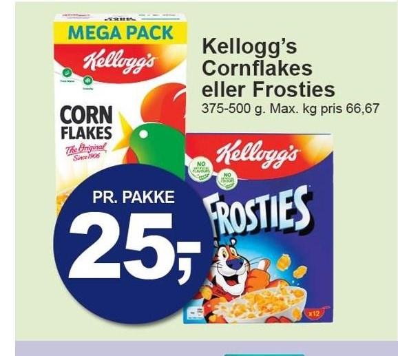 Kellogg's Cornflakes eller Frosties