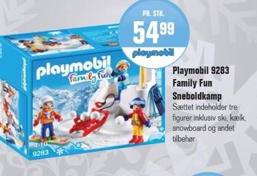 Playmobil 9283 Family Fun Sneboldkamp