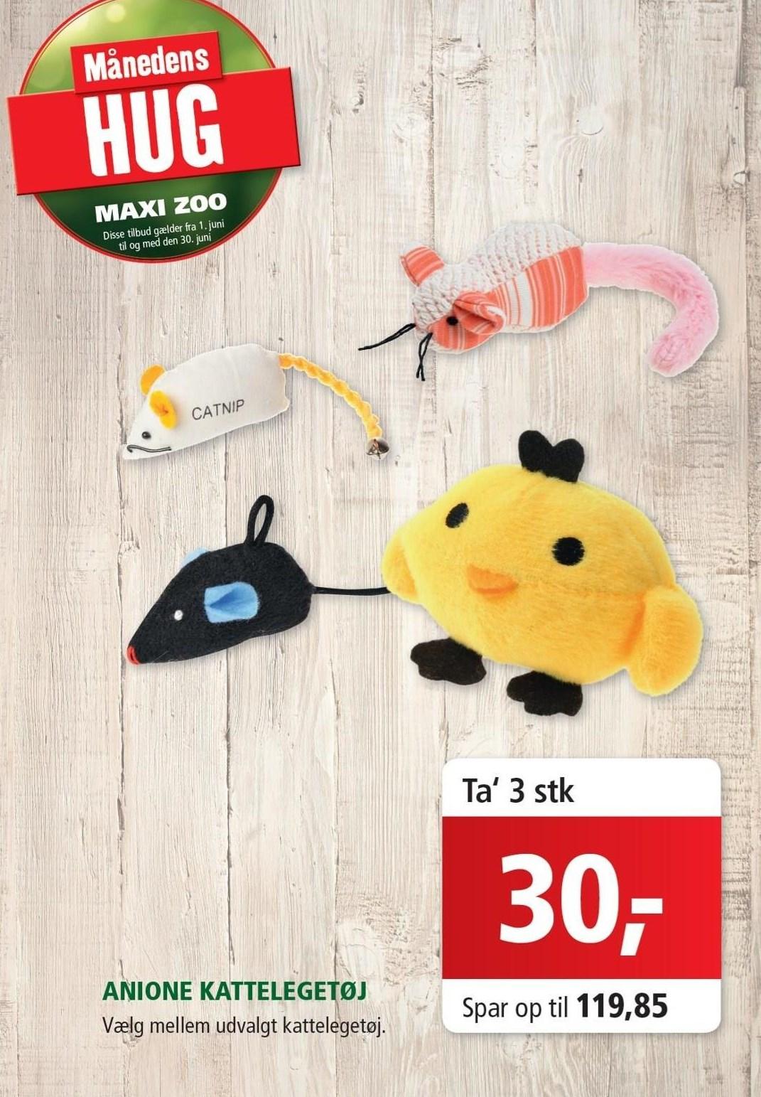 AniOne kattelegetøj 3 stk.