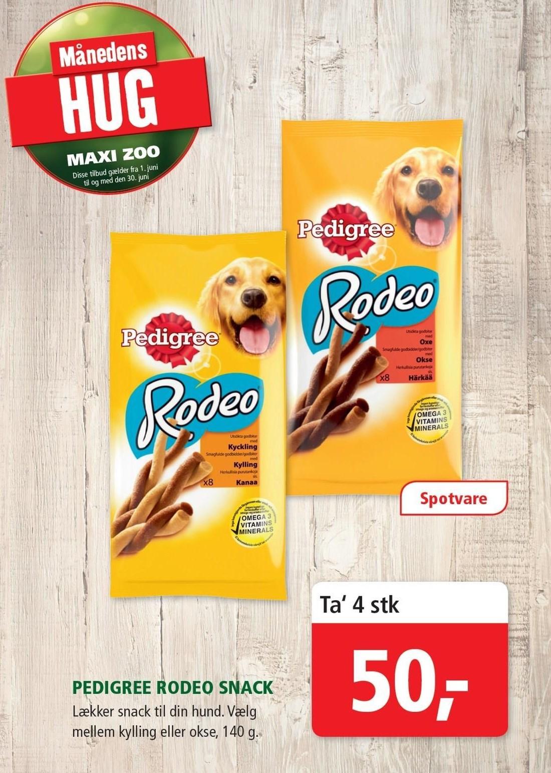 Predigree Rodeo snack 4 stk.