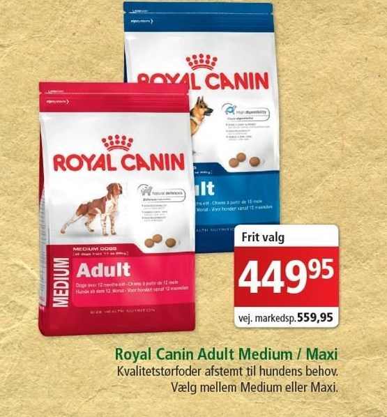 Royal Canin adult medium/maxi