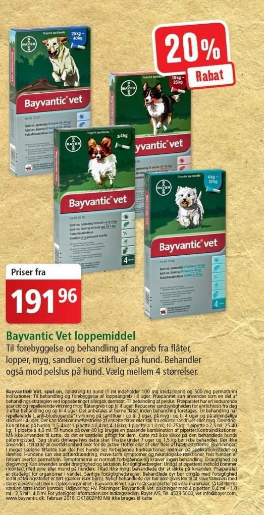 Bayvantic Vet loppemiddel
