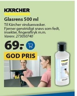 Glasrens 500 ml