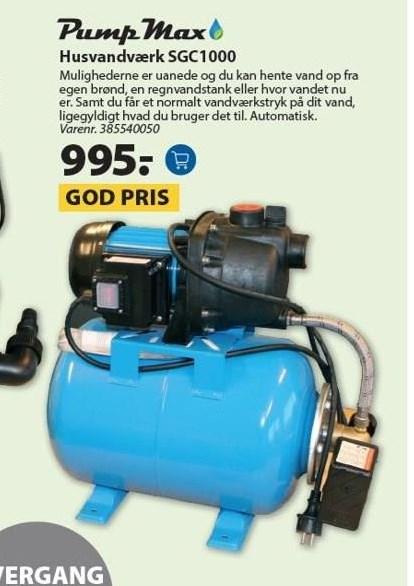 Hasvandværk SGC1000