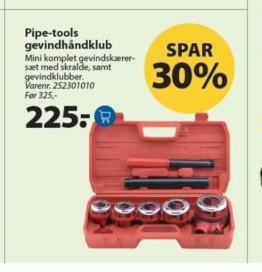 Pipe-tools gevindhåndklub