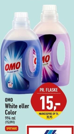 Omo White eller Color