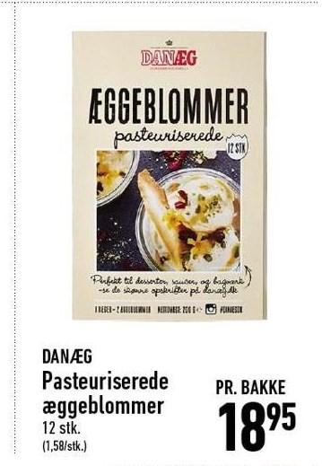 Pasteuriserede æggeblommer