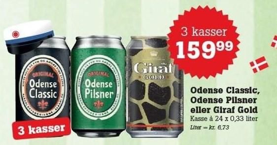 Odense pilsner 3 ks.