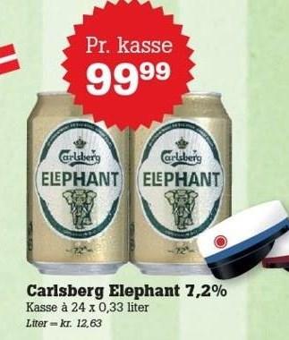Carlsberg elephant 7,2%