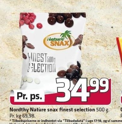 Nordthy Nature snax finest selection