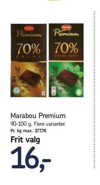 Marabou Premium