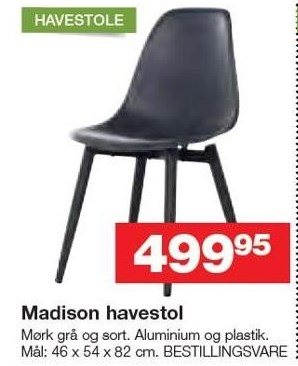 Madison havestol