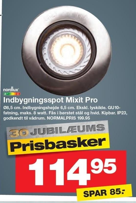 Indbygningsspot Mixit Pro