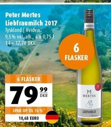 Peter Mertes Liebfraumilch 2017 6 flasker