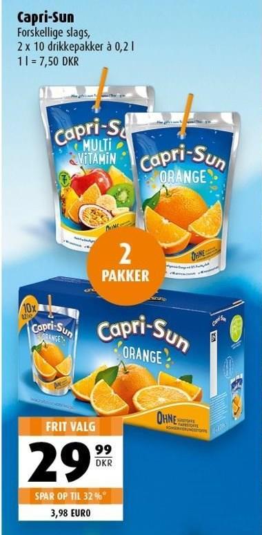 Capri-Sun 2 pakker