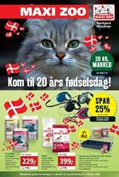 Maxi Zoo: Gyldig t.o.m fre 7/10