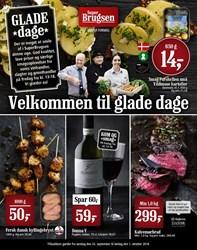 SuperBrugsen: Gyldig t.o.m lør 1/10