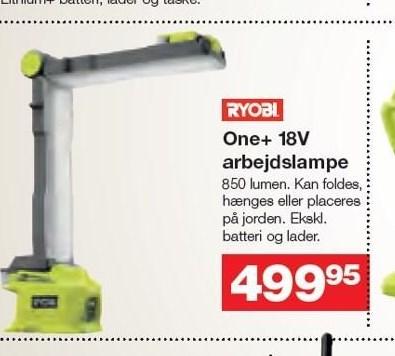 One+ 18V arbejdslampe