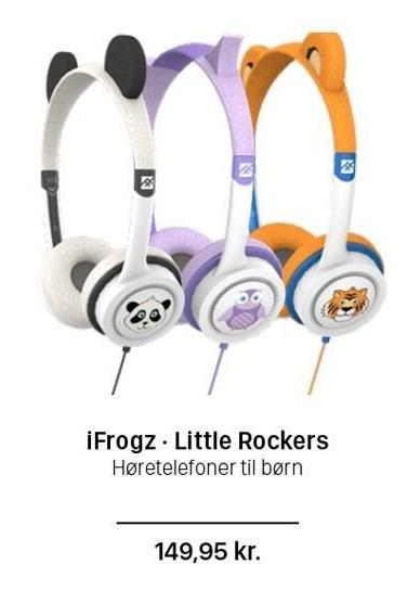 iFrogz - Little Rockers