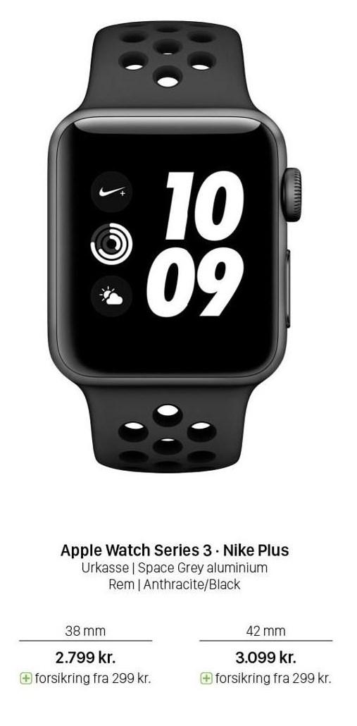 Apple Watch Series 3 - Nike Plus