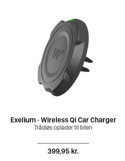 Exelium - Wireless Qi Car Charger