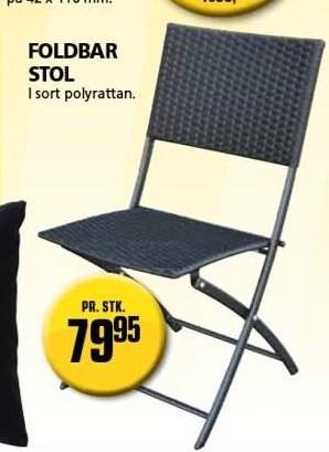 Kun i Vorupgruppen - Foldbar stol