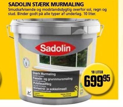 Kun i Vorupgruppen - Sadolin stærk murmaling