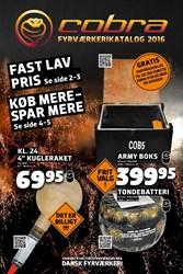 Aalborg Fyrværkerifabrik: Gyldig t.o.m lør 31/12