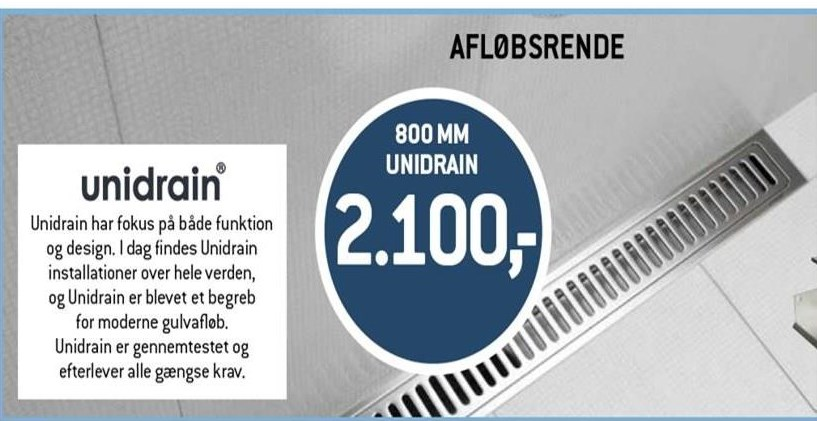 800 mm unidrain