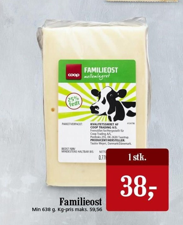 Familieost