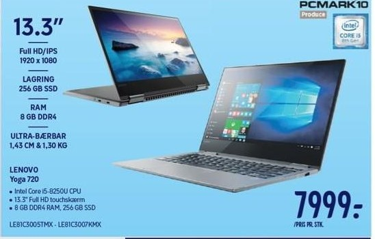 Lenovo Yoga 13,3