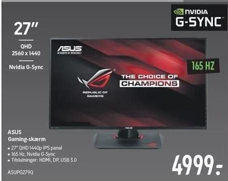 Asus Gaming-skærm