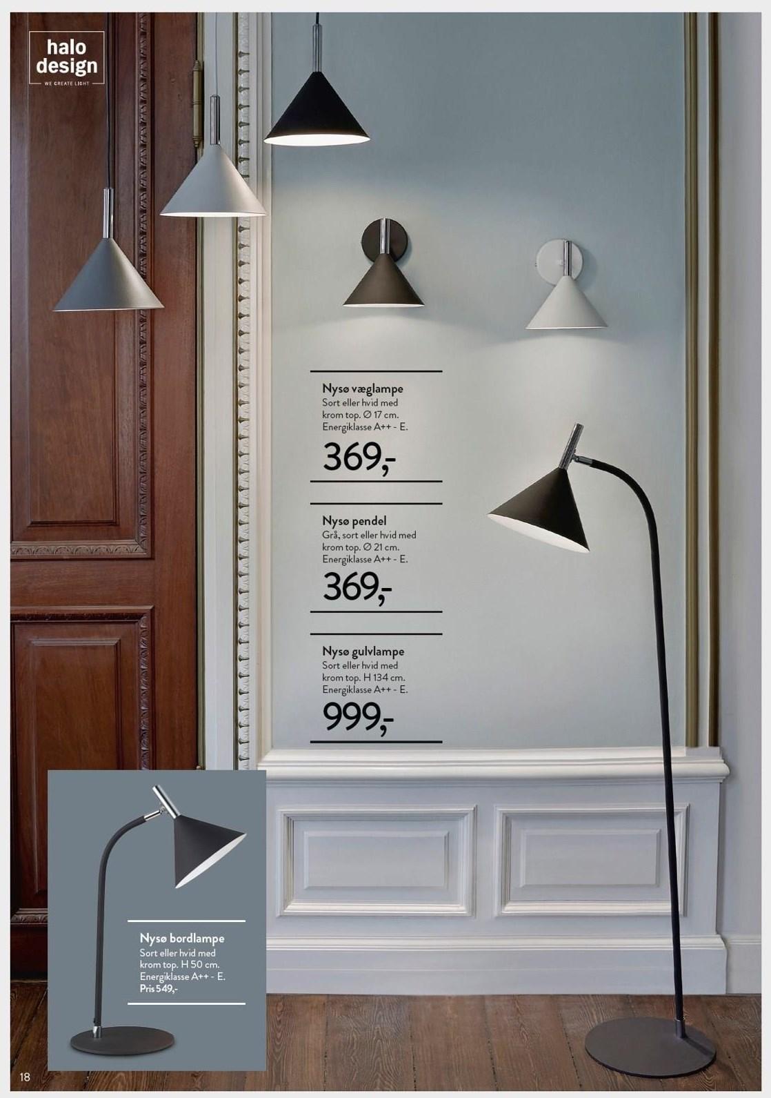 Nyse væglampe, bordlampe eller pendel