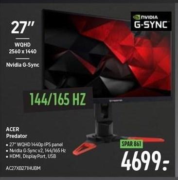 Acer computerskærm