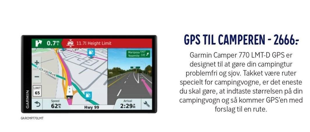 GPS til camperen
