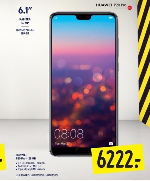 Huawei P20 Pro - 128 GB