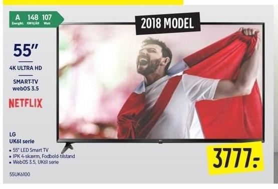 LG UK61 Serie Smart tv