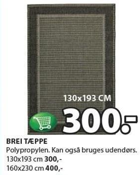 Brei tæppe