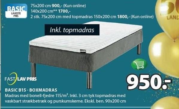 Basic B15 - Boxmadras