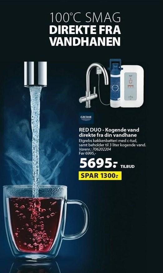 Red Duo - Kogende vand fra vandhanen