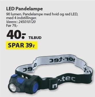 LED Pandelampe
