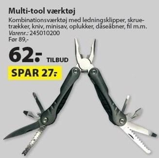 Multi-tool værktøj