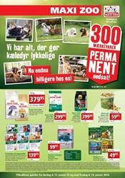 Maxi Zoo: Gyldig t.o.m fre 19/1