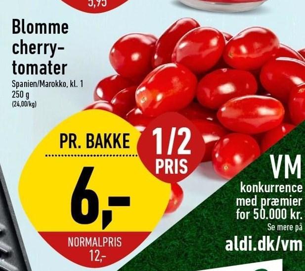 Blomme cherrytomater