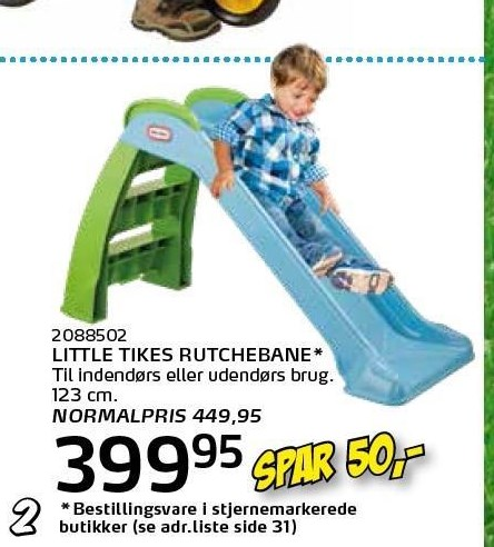 Little Tikes rutchebane