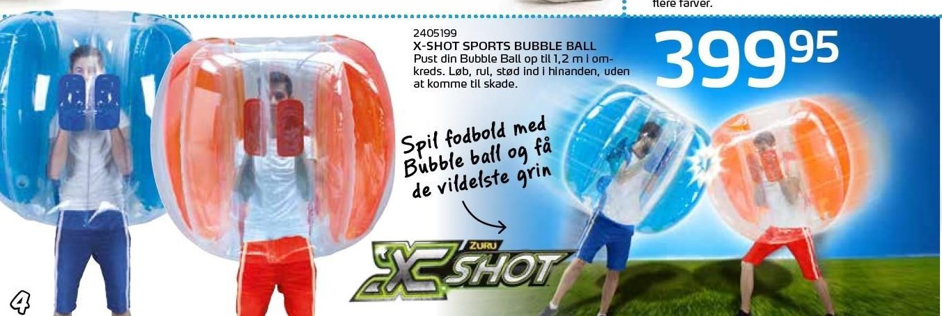 X-Shot sports bubble ball