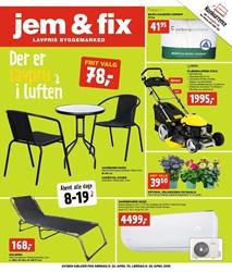 jem & fix: Gyldig t.o.m lør 28/4