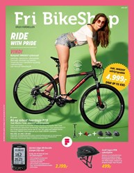 Fri BikeShop: Gyldig t.o.m fre 30/6