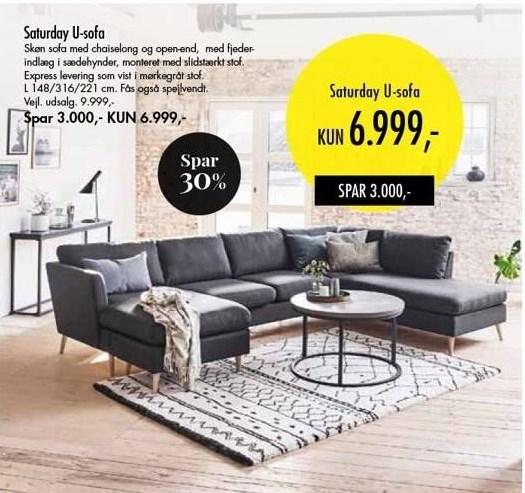 Saturday U-sofa