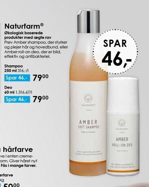 Naturfarm shampoo el. deo